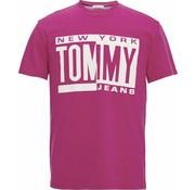 Tommy Hilfiger T-shirt Regular Fit Roze (DM0DM06078 - 573)