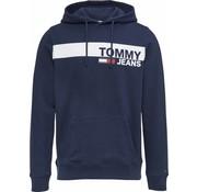 Tommy Hilfiger Hoody Logo Navy (DM0DM06047 - 002)