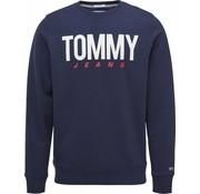 Tommy Hilfiger Trui Crewneck Navy  (DM0DM06291 - 002)