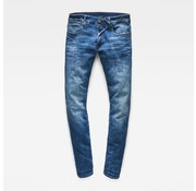 G-star Jeans 3301 deconstructed skinny fit indigo aged (D01159-8968-6028)