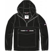Tommy Hilfiger Anorak met logo Zwart (DM0DM06287 - 078)