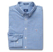 Gant Overhemd regular fit ruit blauw (3046700 - 436)