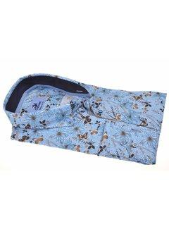 Culture Overhemd Modern Fit Vlinder Blauw (214916 - 32)