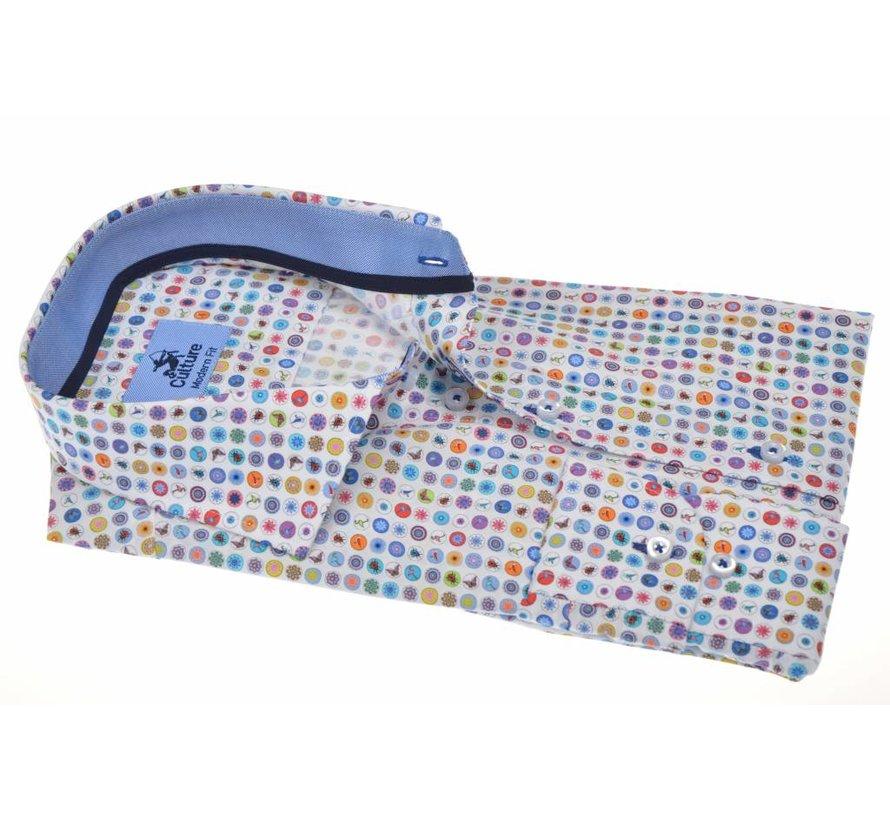 Overhemd Modern Fit Multicolor (214932 - 01)