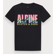 Scotch & Soda t-shirt antraciet (147367 - 0005)