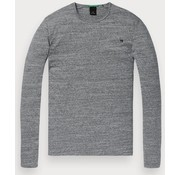Scotch & Soda longsleeve t-shirt grijs (145489 - 0606)