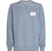 Calvin Klein sweater logo licht blauw (K10K103357 - 484)