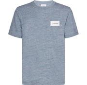 Calvin Klein ronde hals t-shirt logo licht blauw (K10K103361 - 484)