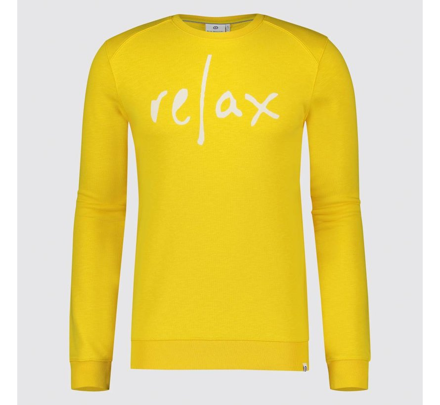 Sweater Relax Geel (KBIS19 - M61 - Yellow)
