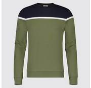 Blue Industry Sweater Army/Navy (KBIS19 - M66 - Army)