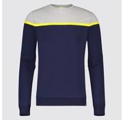 Blue Industry Sweater Marine/Grijs (KBIS19 - M66 - Marine)