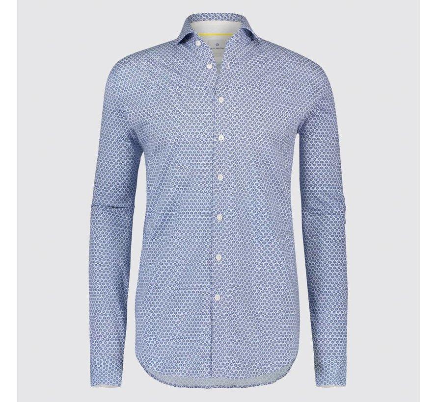 Overhemd print Blauw (1099.91)