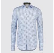 Blue Industry Overhemd stippen Blauw (1108.91)