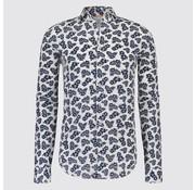 Blue Industry Overhemd print Bloemen Wit (1121.91)