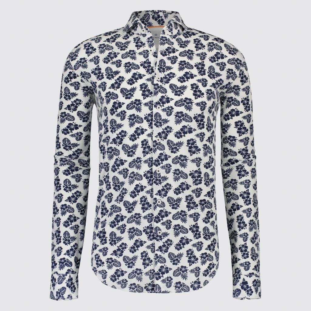 Bloemetjes Overhemd.Blue Industry Overhemd Print Bloemen Wit 1121 91 Nieuwnieuw Com