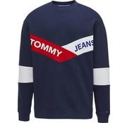 Tommy Hilfiger sweater logo Navy (DM0DM06041 - 002)