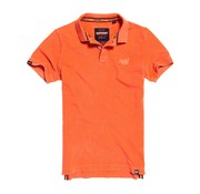 Superdry Polo Destroyed Oranje (M11017RT - KRC)