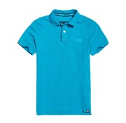 Superdry Polo Destroyed Blauw (M11017RT - T2F)
