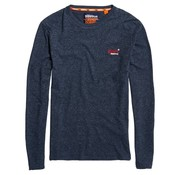 Superdry Longsleeve T-shirt Navy (M60103ET - D3H)