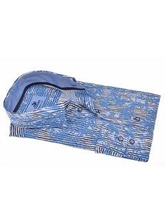 Culture overhemd Modern Fit streep Blauw (214897 - 34)
