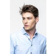 Haze & Finn Overhemd korte mouw Oxford Blauw (MC11-0102)