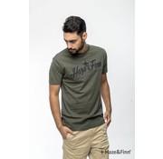 Haze & Finn T-shirt logo Army (MU11-0003 - green)
