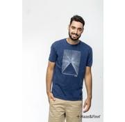 Haze & Finn T-shirt Denim (MU11-0006)