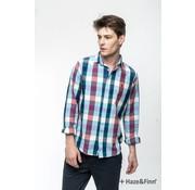 Haze & Finn Overhemd ruit Multicolor (MU11-0101)