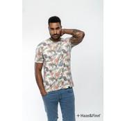 Haze & Finn T-shirt Jungle print Wit (MU11-0002)