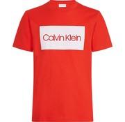 Calvin Klein T-shirt logo Rood (K10K103654 - 659)