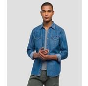 Replay jeans overhemd Blauw (M4860Z 26C 319 - 010)
