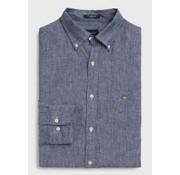 Gant Overhemd Blauw (3040620 - 423)