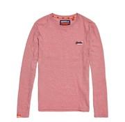 Superdry Longsleeve T-shirts Rood (M60103ET - E3G)