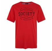 HV Society T-shirt korte mouw Rood (0403103127 - 3000)