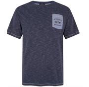 HV Society T-shirt korte mouw streep Navy (0403103130 - 5580)