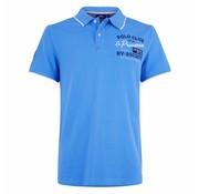 HV Society Polo korte mouw Blauw (0403103137 - 5000)