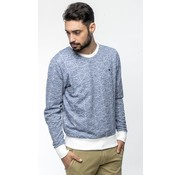 Haze & Finn Sweat Geometric Lichtblauw (MU11-0414)