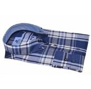 Culture overhemd modern fit ruit Blauw (214815 - 38)