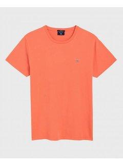 Gant T-shirt regular fit oranje (234100 - 859)