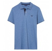 Gant Polo regular fit denim blauw (252105 - 906)