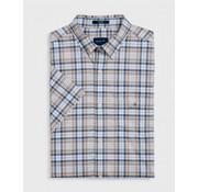 Gant Korte Mouw Overhemd Regular Fit Sand (3018231 - 277)