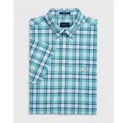 Gant Korte Mouw Overhemd Regular Fit Groen (3018231 - 355)