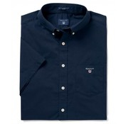 Gant Korte Mouw Overhemd Regular Fit Navy (3046401 - 410)