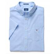 Gant Korte Mouw Overhemd Regular Fit Lichtblauw (3046401 - 420)
