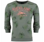New Zealand Auckland Sweater Tahakopa Spring Groen (19AN306 - 486)
