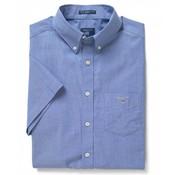 Gant Korte Mouw Overhemd Regular Fit Blauw (3046401 - 436)
