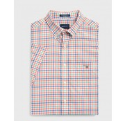 Gant Overhemd regular fit ruit oranje (3046851 - 859)