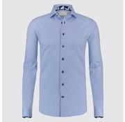 Jackett & Sons overhemd blauw (JS1811)