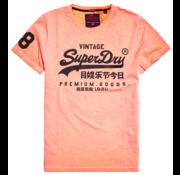 Superdry T-shirt Logo Oranje (M10109YT - ZRC)