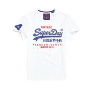 Superdry T-shirt logo Wit (M10992NT - 01C)